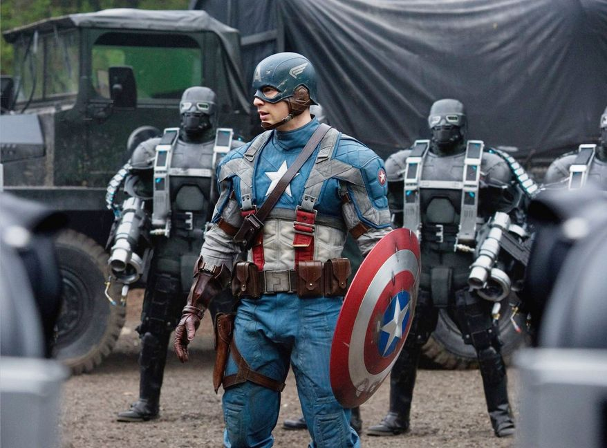 "MARVEL ENTERTAINMENT ""Captain America: The First Avenger"" is one of four movies opening this summer featuring a superhero."