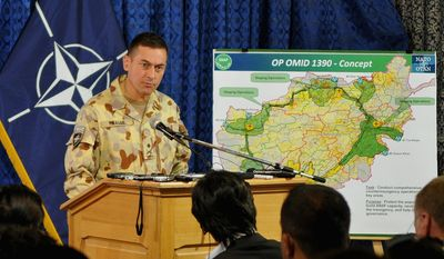 """""""What became pretty obvious with [bin Laden's] death is that he was pretty irrelevant,"""" said Australian Maj. Gen. Michael G. Krause, deputy chief of staff of the International Security Assistance Force in Afghanistan."""