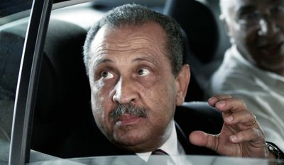 """""""I left the country and decided also to leave my job and to join the choice of Libyan youth to create a modern constitutional state respecting human rights and building a better future for all Libyans,"""" said Shokri Ghanem, formerly Libya's top oil official, who defected to Rome on Wednesday. (AP Photo)"""