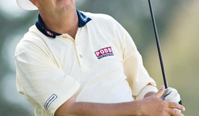 Kirk Triplett finished in a tie for 30th in the Melwood Prince George's County Open last year. (AP Photo/Wily Low)