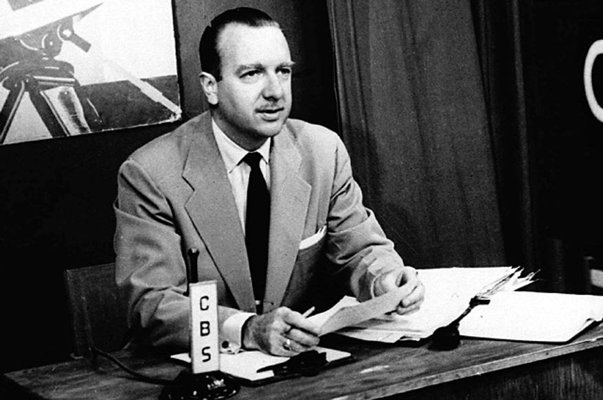 This July 1, 1952 file photo provided by CBS shows TV Washington newsman Walter Cronkite. (Photo: Associated Press)