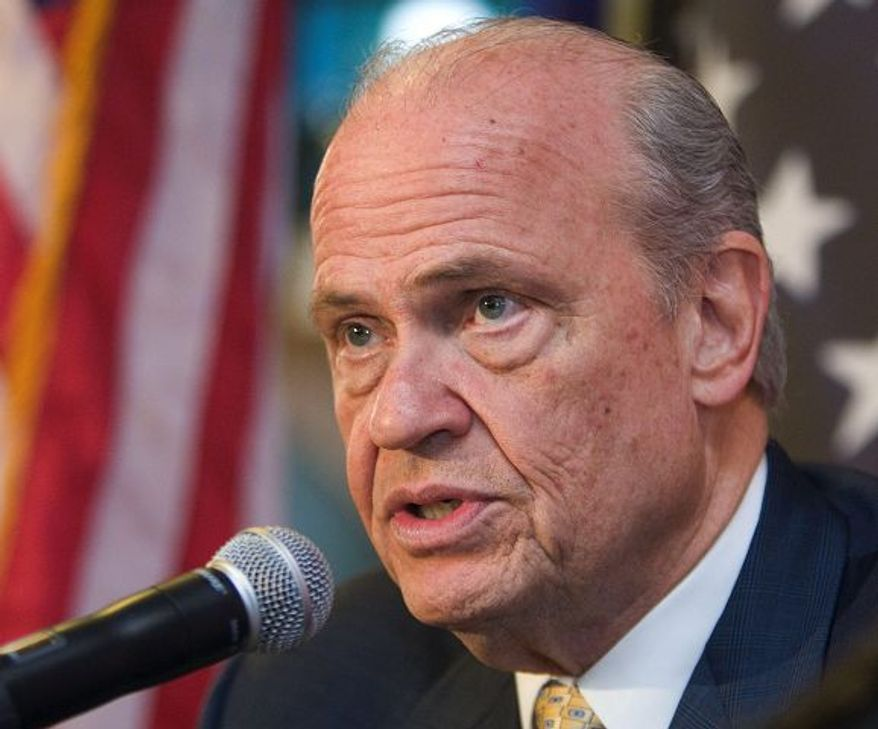 "Former Sen. Fred Thompson supports the ""National Popular Vote Compact."" (Associated Press)"