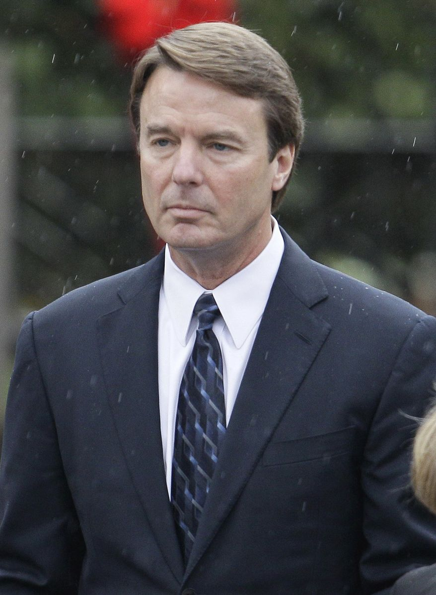 ** FILE ** In this Dec. 11, 2010, file photo, former Democratic presidential candidate John Edwards is seen in Raleigh, N.C. (AP Photo/Gerry Broome, File)