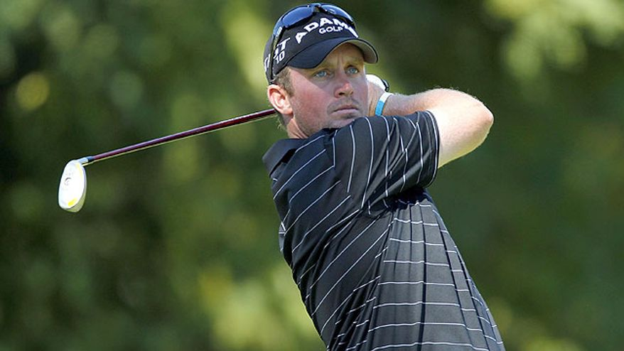 Steve Wheatcroft shot an 11-under par 60 in the second round of the Melwood Prince George's County Open. (PGA Tour)