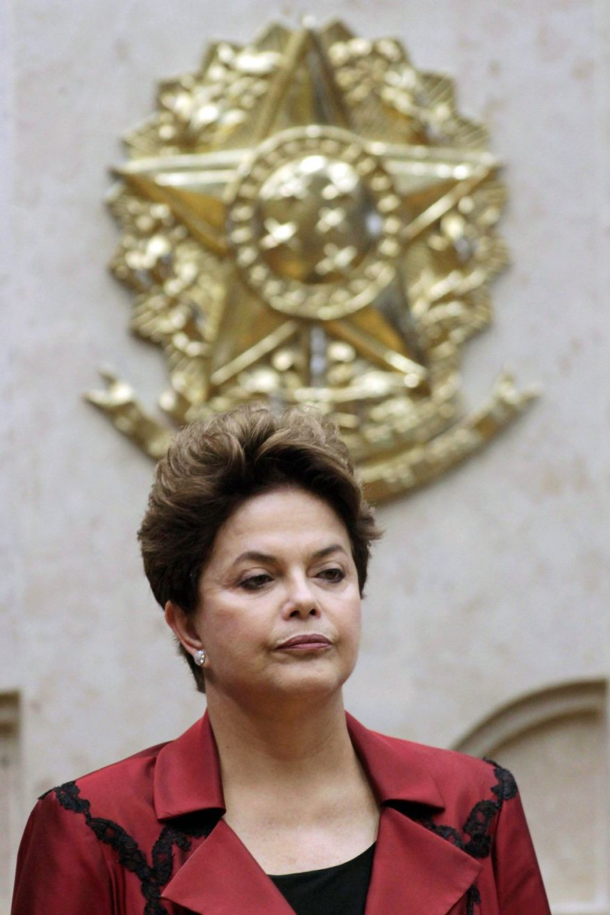 ASSOCIATED PRESS Brazilian President Dilma Rousseff is contending with a scandal involving her chief of staff, issues about her own health and the intervention of her predecessor in a legislative issue at the same time she is managing a slowing economy and high inflation.