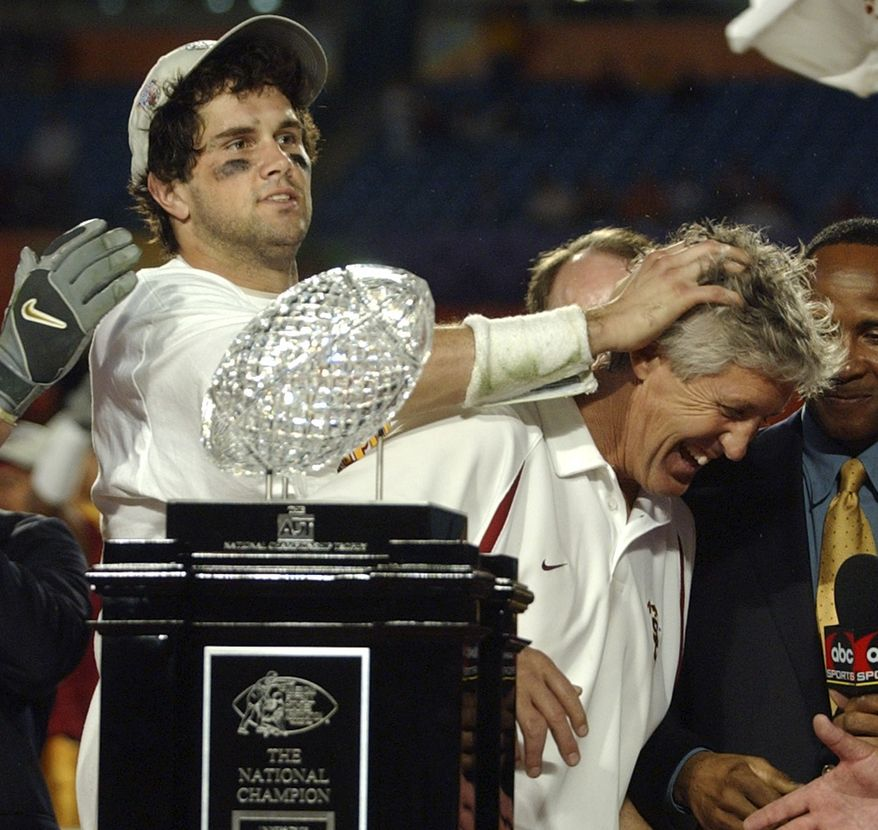 The Bowl Championship Series stripped Southern California of its 2004 title on Monday, leaving that season without a BCS champion.