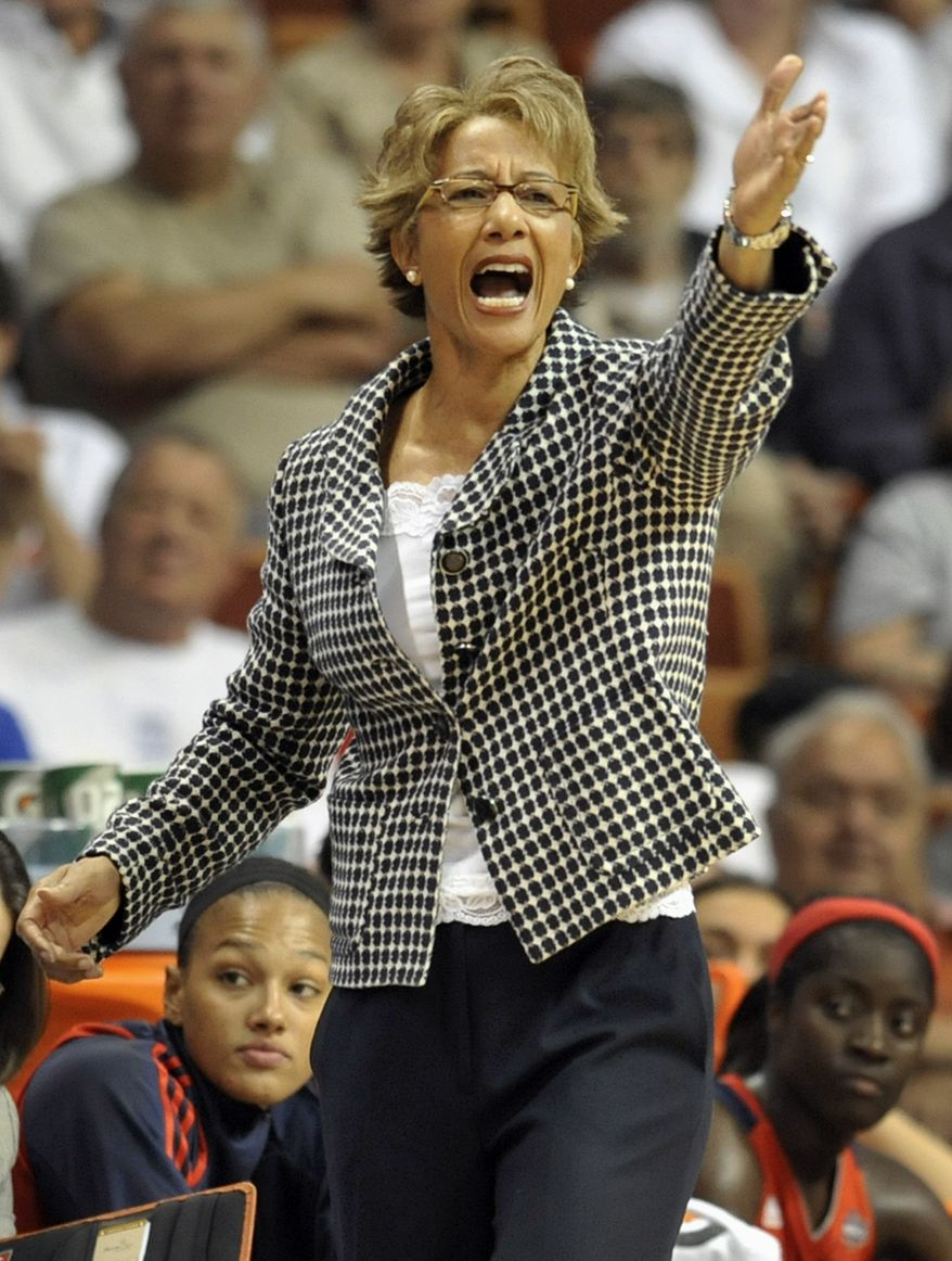 ** FILE ** Washington Mystics head coach Trudi Lacey. (AP Photo/Jessica Hill)