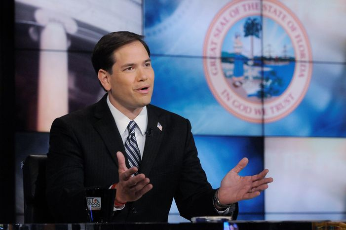 "Sen. Marco Rubio, Florida Republican, on Tuesday will become the last of 13 Senate freshmen to deliver a ""maiden speech"" on the Senate floor, nearly five months into his term."