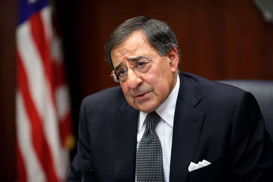 New CIA Director Leon Panetta speaks with reporters, at CIA Headquarters in Langley, Va., Wednesday, Feb. 25, 2009. Panetta said Argentina, Ecuador and Venezuela are in dire economic straits and could be destabilized by the worldwide economic crisis. (AP Photo/J. Scott Applewhite)