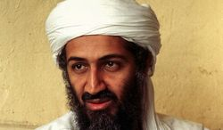 **FILE** Osama bin Laden is pictured here in Afghanistan in April, 1998. (Associated Press)