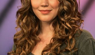 ** FILE ** British singer Joss Stone is photographed after an interview, in this Oct. 20, 2008, file photo taken in New York. (AP Photo/Mary Altaffer)