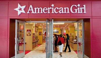American Girl will not say how much was spent on developing the new Northern Virginia store, but some may think it's a risky move in times of recession. (Pratik Shah/The Washington Times)
