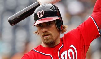 Nationals outfielder Jayson Werth has benefited from moving into the leadoff spot in the lineup. He has hit home runs in each of the past two games. (Associated Press)