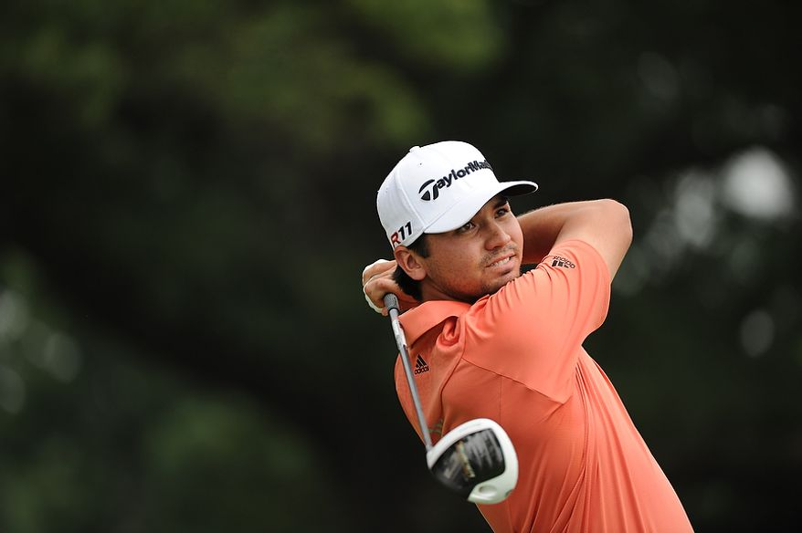 Jason Day, of Australia, hits a drive off the fourth tee during his final round of the U.S. Open at Congressional Country Club in Bethesda, Md., Sunday, June 19, 2011. (Rod Lamkey, Jr./The Washington Times)