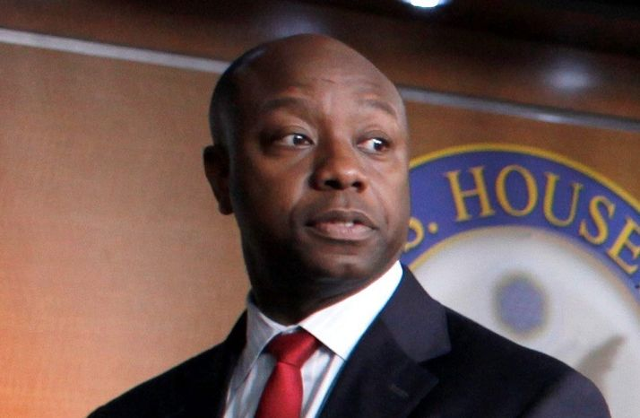 **FILE** Rep. Tim Scott, South Carolina Republican (Associated Press)