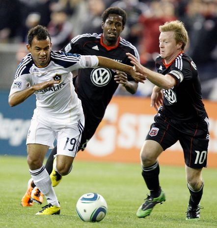ASSOCIATED PRESS United midfielder Dax McCarty (right) played the entire second half of D.C.'s 1-1 tie at Real Salt Lake on Saturday and is close to returning to the starting 11.