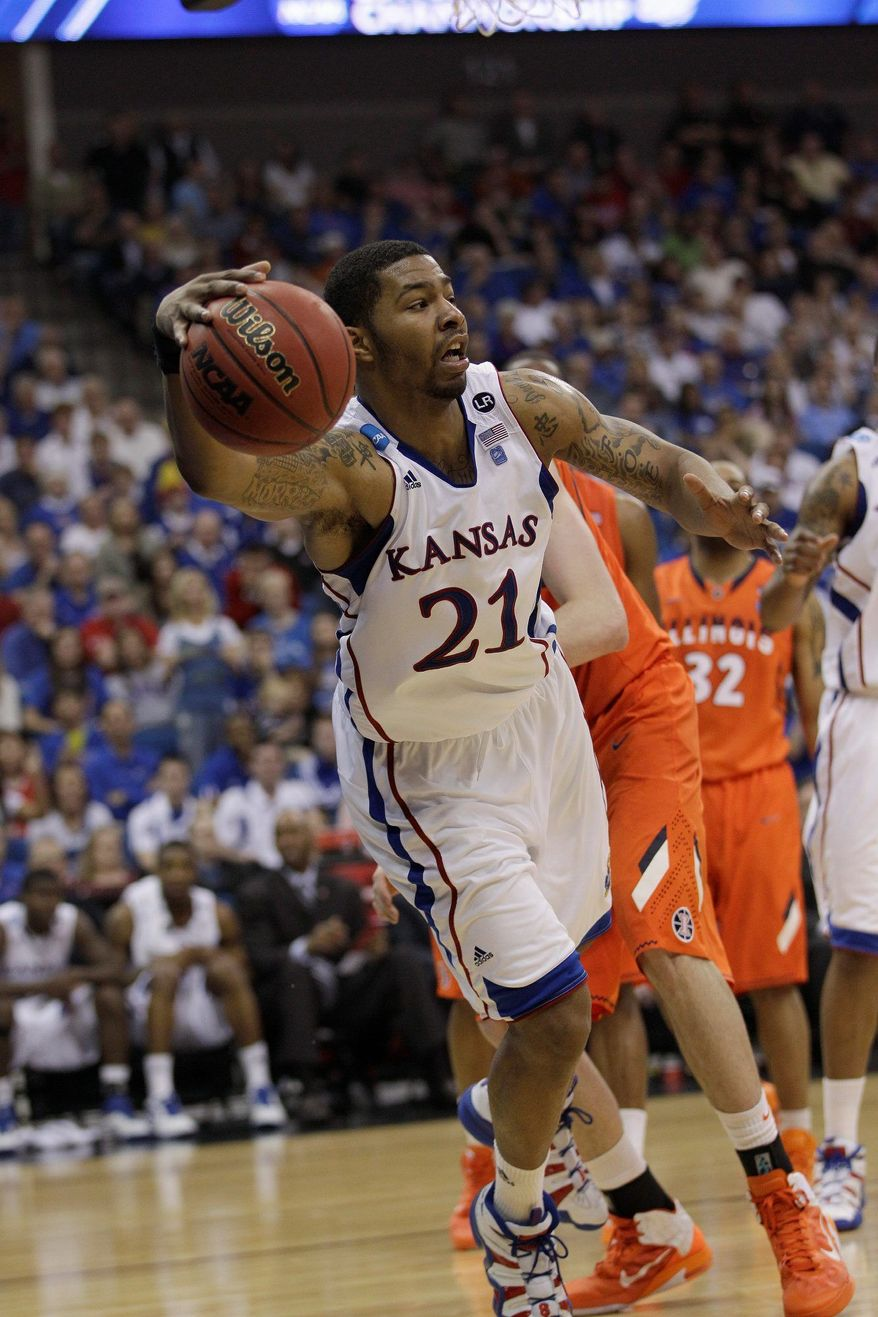 associated press photographs Markieff Morris of Kansas (left), Jan Vesley of the Czech Republic (center) and San Diego State's Kawhi Leonard are forwards high on the Wizards' wish list. Washington, which has the sixth overall pick, will be looking for a player to complement guard John Wall, last year's No. 1 overall selection.