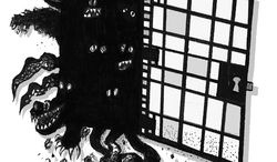 Illustration: Prison release by John Camejo for The Washington Times