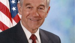 "Rep. Ron Paul joins with Rep. Barney Frank and other Democrats to back first-ever legislation to ""end the federal war"" on marijuana. (Image from Rep. Ron Paul, Texas Republican.)"