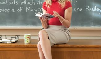 "COLUMBIA PICTURES-SONY VIA ASSOCIATED PRESS Cameron Diaz's ""Bad Teacher"" can be pretty funny as she tries to raise money for plastic surgery, land a rich husband and escape the classroom."