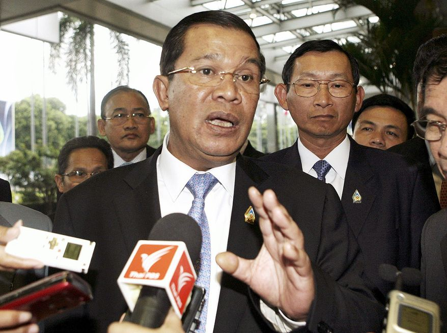 "Prime Minister Hun Sen sought U.N. help in the late 1990s to create the ""killing fields"" tribunal, though he didn't want a fully international court."