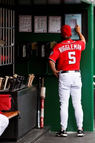 ASSOCIATED PRESS Jim Riggleman said the uncertainty over his contract situation undermined his authority as manager. John McLaren will take over on an interim basis.