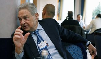 George Soros (Associated Press) ** FILE **