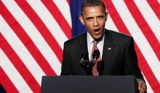 """ASSOCIATED PRESS When gay supporters at a New York fundraiser pressed President Obama on whether he supports same-sex marriage, he said """"gay couples deserve the same legal rights as every other couple"""" but avoided giving a definitive answer."""
