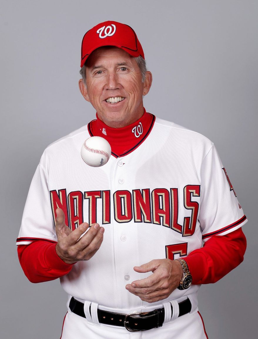 Davey Johnson led the New York Mets to a World Series championship in 1986 and was named American League Manager of the Year in 1997 with the Baltimore Orioles. He is 260 games over .500 for his career. (Associated Press)