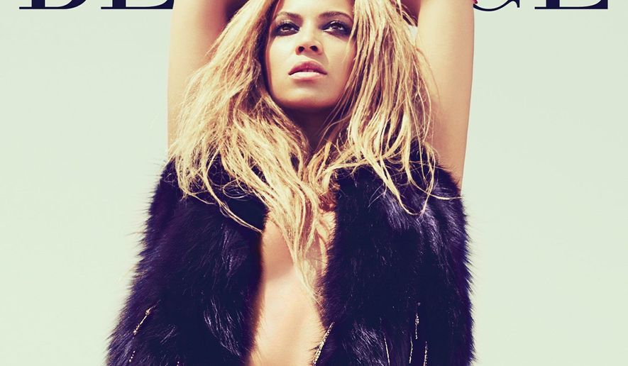 """In this CD cover image released by Columbia Records, the latest release by Beyonce, """"4,"""" is shown. (AP Photo/Columbia Records)"""