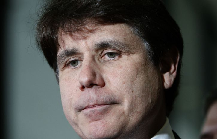 **FILE** Former Illinois Gov. Rod Blagojevich (Associated Press)