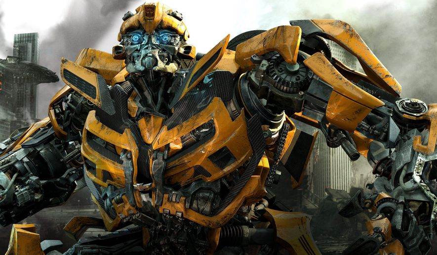 "PARAMOUNT PICTURES VIA ASSOCIATED PRESS Shia LaBeouf and Rosie Huntington-Whiteley get caught up in the battle between Autobots and Decepticons in ""Transformers: Dark of the Moon."" Bumblebee is an Autobot with luck, determination and spirit."