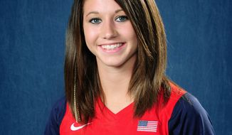 USA SOFTBALL Lauren Gibson of Pasadena, Md., will play for the U.S. in the World Cup of Softball starting July 21 in Oklahoma City.