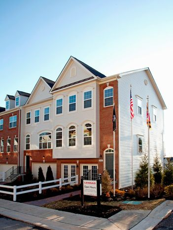 Lennar is building 258 town homes at Fieldstone in Laurel near Arundel Mills mall. The Kentwell model has 2,125 finished square feet, with base prices from $339,990 to $355,990.