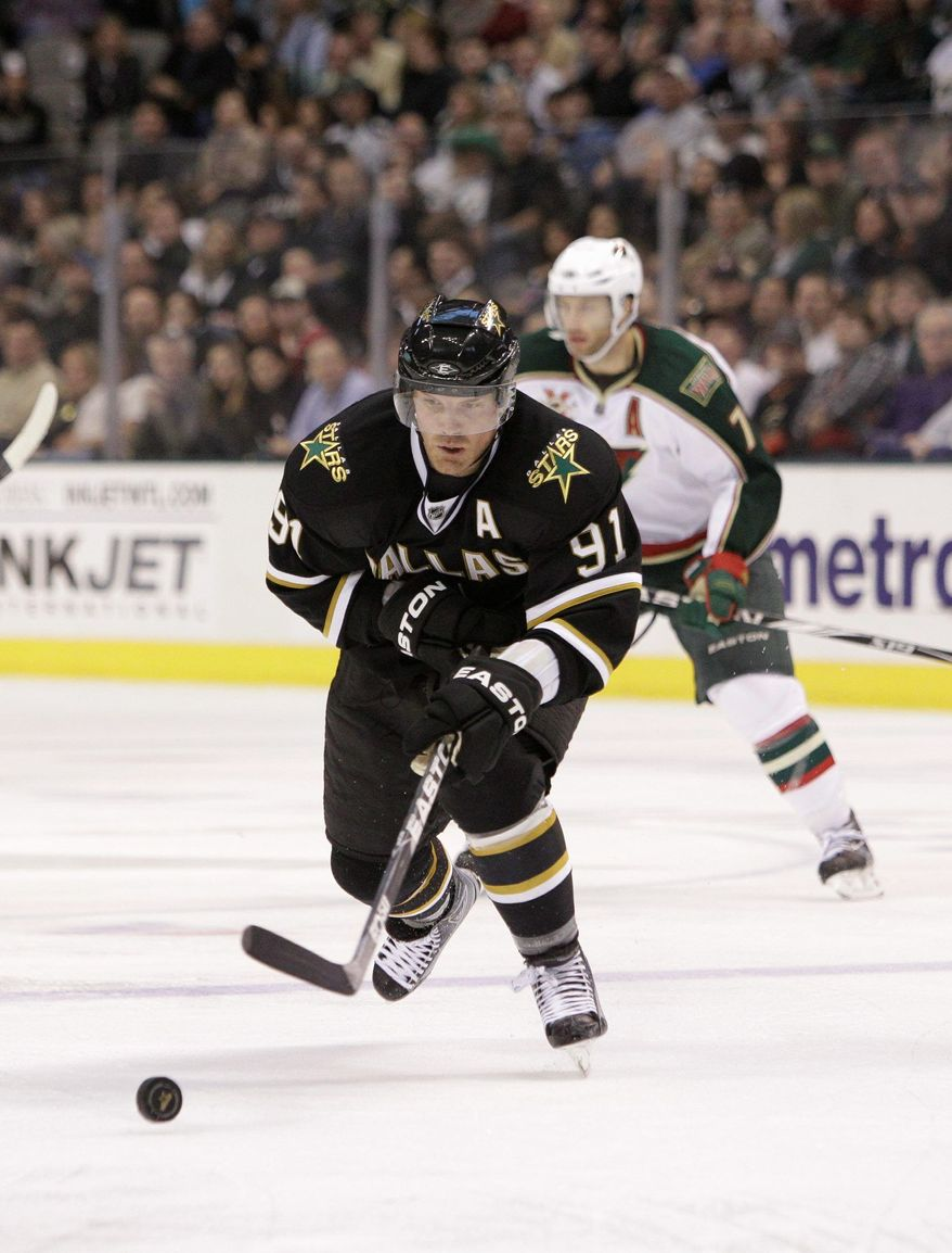 ASSOCIATED PRESS Dallas center Brad Richards had 28 goals and 49 assists in 72 games last season.