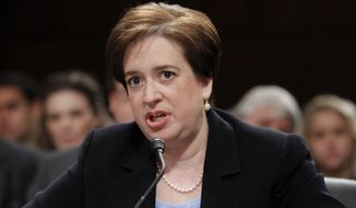**FILE** Supreme Court Justice Elena Kagan (Associated Press)