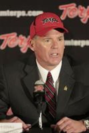Maryland released its starting right guard Justin Lewis on Tuesday. Coach Randy Edsall said Lewis violated team p