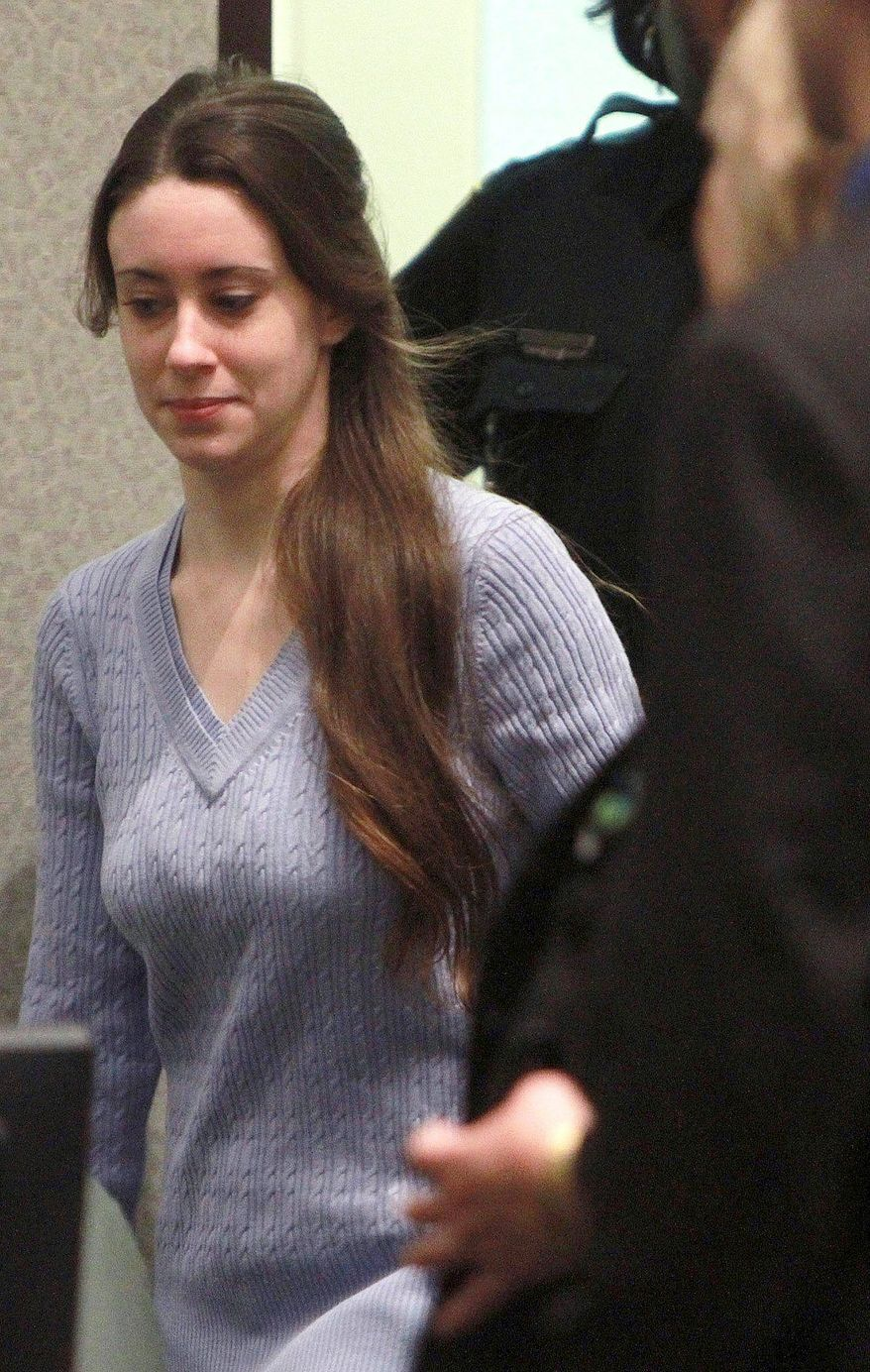 The Casey Anthony verdict gave HLN its biggest audience ever with 4.58 million people watching between 2 and 3 p.m. Tuesday. (Associated Press)