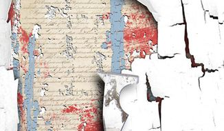 Illustration: Constitution restoration by Linas Garsys for The Washington Times