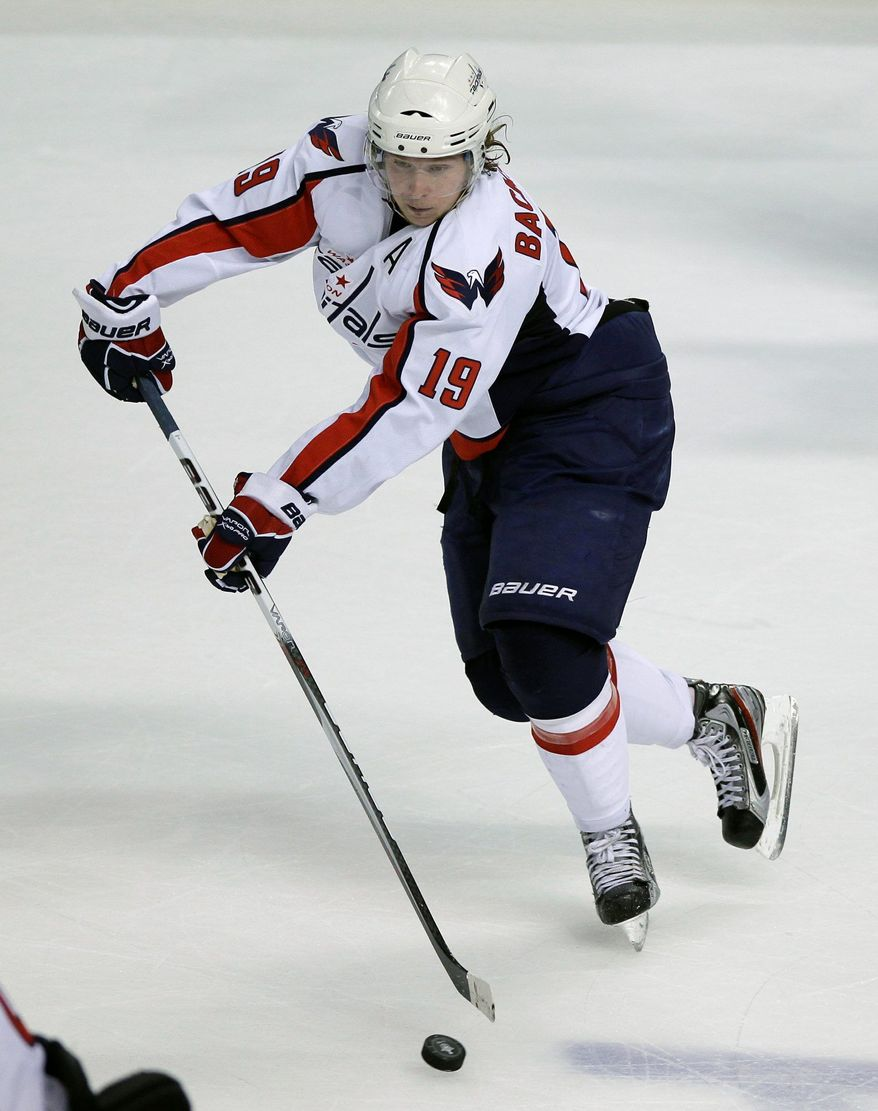 After recording 101 points two seasons ago, Washington Capitals' Nicklas Backstrom had 18 goals and 47 assists last season. (AP Photo/John Raoux)
