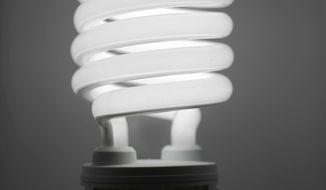 ** FILE ** A compact fluorescent light bulb (AP Photo/Matt Rourke, File)