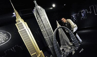 Architectural artist Adam Reed Tucker uses LEGO bricks as his medium, giving some of the world's iconic landmarks an unexpected makeover. LEGO ARCHITECTURE: TOWERING AMBITION on view at the National Building Museum through Sept. 5, 2011.
