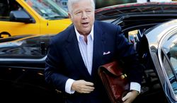 New England Patriots owner Robert Kraft (Associated Press)