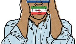Illustration: Hear No Evil from North Korea by Linas Garsys for The Washington Times