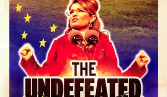 """The Sarah Palin biopic """"The Undefeated"""" had a respectable opening in 10 theaters during a weekend test engagement, and wider distribution will follow later this month, a spokesman for distributor ARC Entertainment says. (Victory Film Group)"""