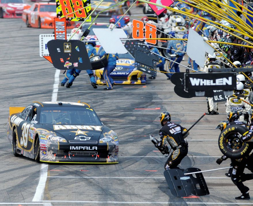 Ryan Newman won from the pole at New Hampshire Motor Speedway for his first Sprint Cup victory of the season. (Associated Press)