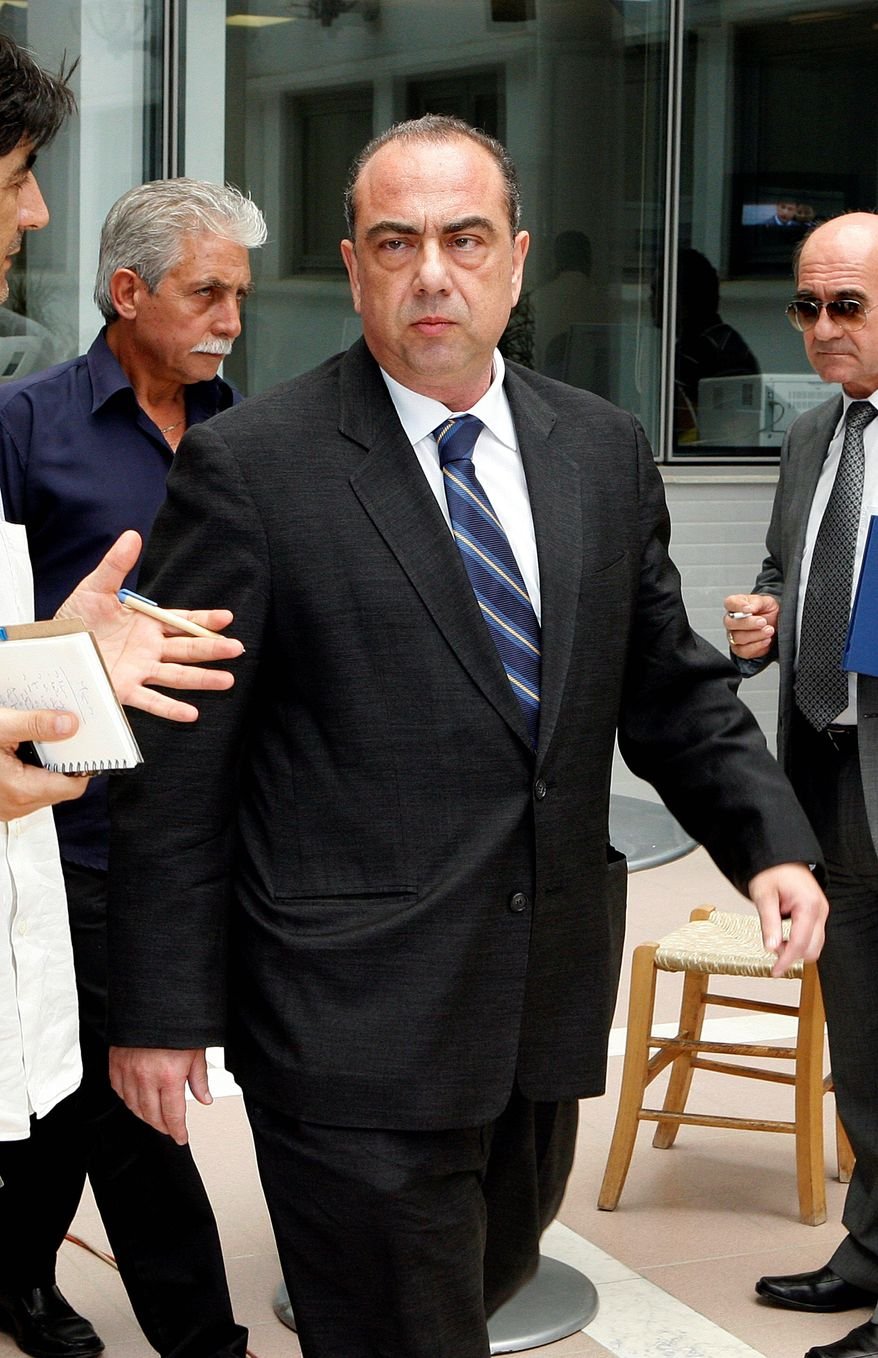 Cyprus Foreign Minister Marcos Kyprianou resigned Tuesday, another casulaty of the explosion of gunpowder-filled containers at a naval base. (Associated Press)