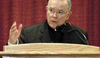 Denver Archbishop Charles J. Chaput, shown in 2008, will succeed Cardinal Justin Rigali as archbishop of Philadelphia, historically one of the most important posts in the U.S. church. (AP Photo/Will Powers, File)