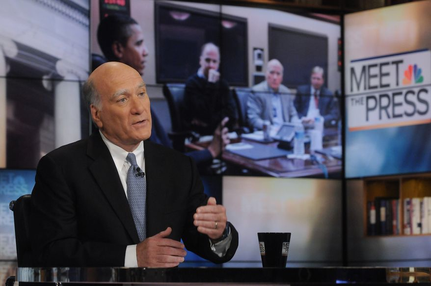 """NEGOTIATING: White House Chief of Staff Bill Daley said a debt deal can't be a """"short-term gimmick."""" (NBC via Associated Press)"""