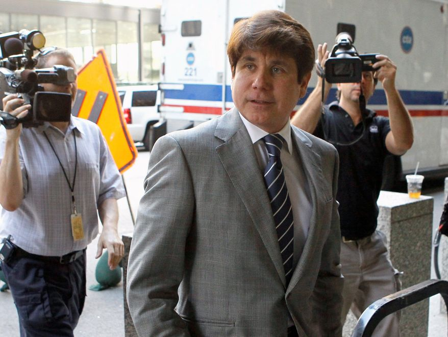 Attorneys for former Illinois Gov. Rod Blagojevich filed a 158-motion for a retrial on his behalf, citing alleged errors and biases. A jury last month convicted the former governor on 17 of 20 charges. (Associated Press)